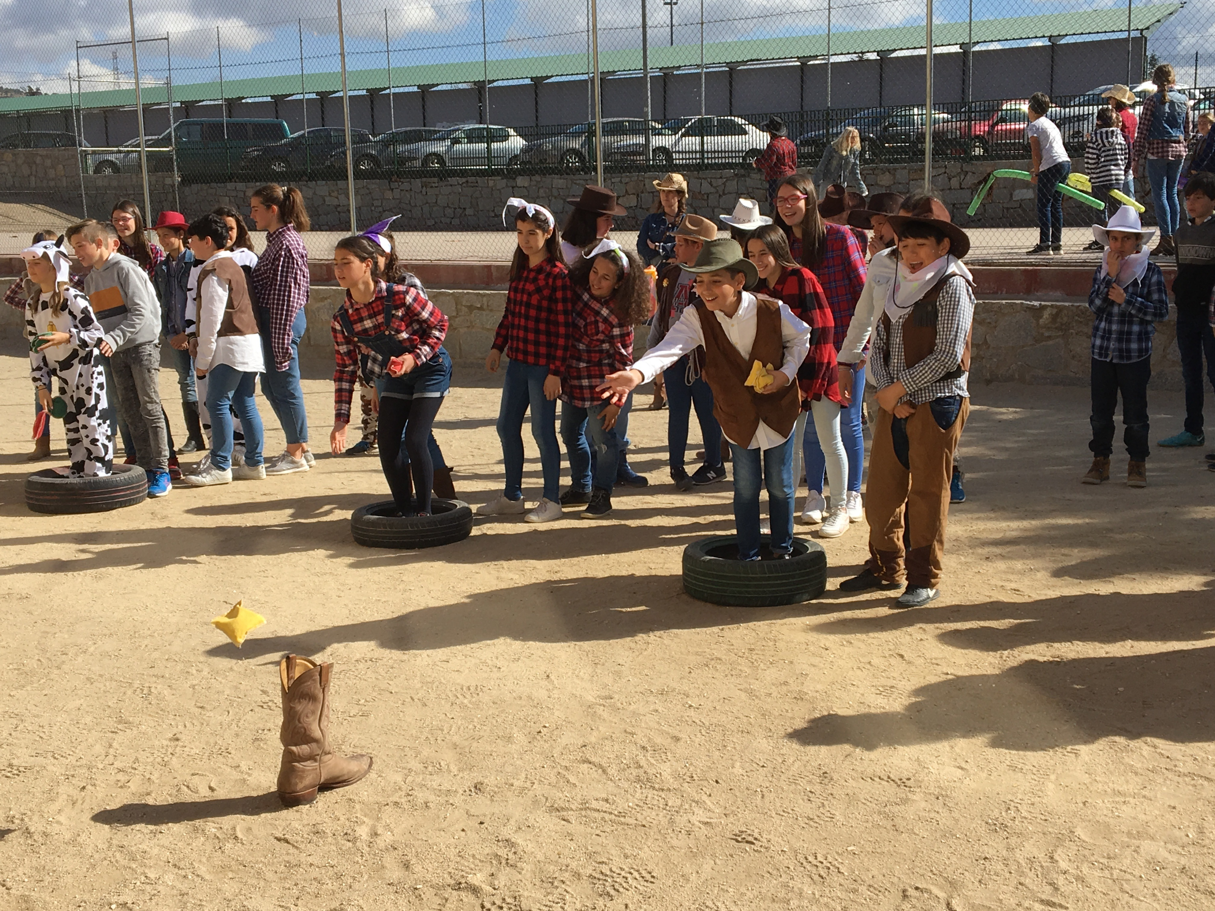 6º disfrutando del Carnaval: El Rodeo de Texas. 17