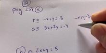 Posición relativa de dos rectas. Ejemplos.