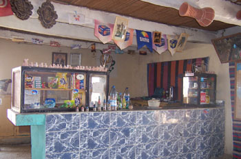 Bar de carretera, Túnez