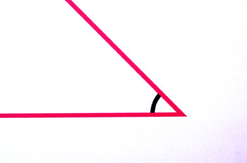 ángulo agudo