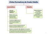 Información sobre los Ciclos Formativos de Grado Medio y Superior