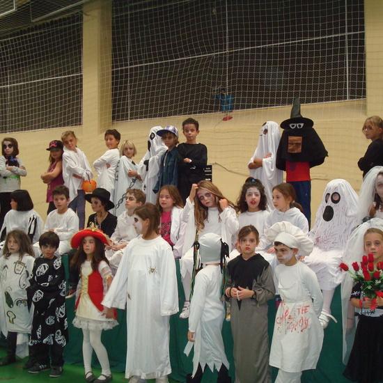 Halloween pabellón