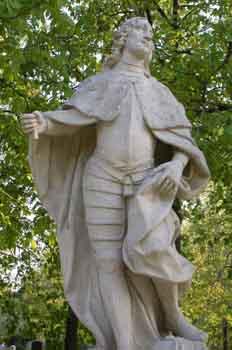 Escultura de Alfonso I El Batallador, rey de Aragón y Navarra