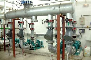 Grupo de bombas de condensación de agua