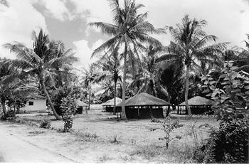 Poblado en Alua, Namapa, Mozambique