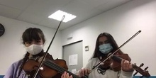 Interpretación instrumental - Carlota Sánchez y compañera