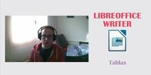LibreOffice Writer - Creación y edición de tablas