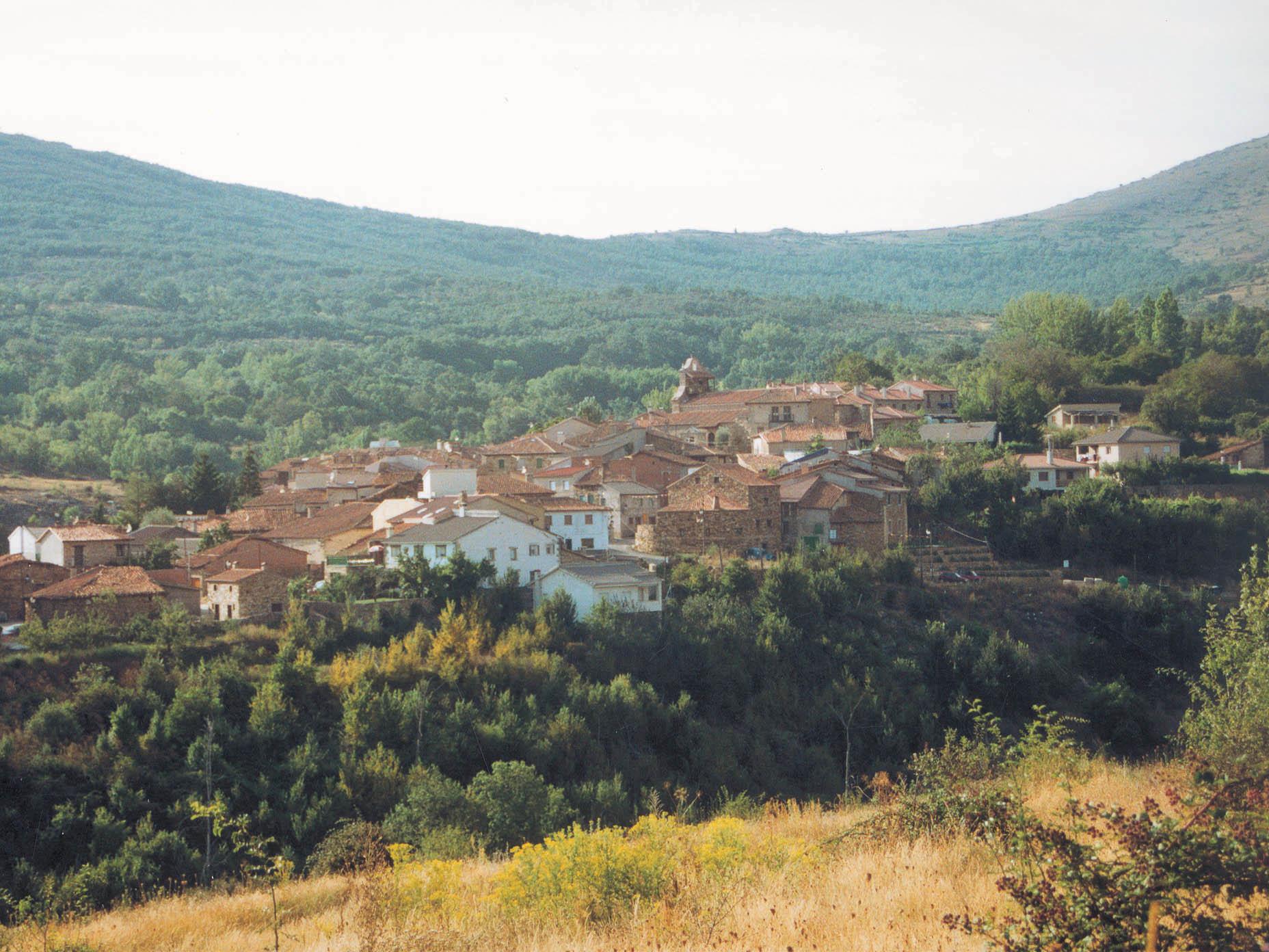 Vista general de Horcajuelo