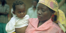 Madre con hijo, Matibane, Mozambique