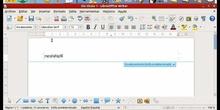 Writer: Encabezado y pie de página