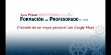 Videotutorial para crear mapas con Google