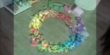 Arco Iris Casero. Propuesta sencilla y colorida.
