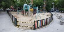 La pandemia en los parques infantiles 2
