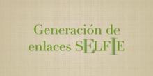 Generación de los enlaces SELFIE EU