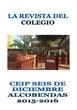 REVISTA COLEGIO SEIS DE DICIEMBRE ALCOBENDAS 2015 2016