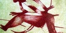 Pintura rupestre, Cueva de la Saltadora, Castellón