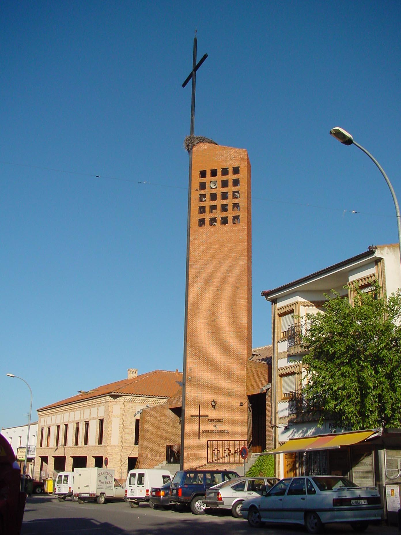 Parroquia de Santiago Apóstol en El Álamo