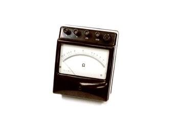 Ohmetro de laboratorio