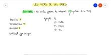"Las leyes gases.<span class=""educational"" title=""Contenido educativo""><span class=""sr-av""> - Contenido educativo</span></span>"