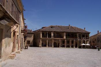 Plaza Mayor de Pedraza, Segovia, Castilla y León