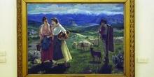 Pintura en el Museo de Historia y Cultura - Cáceres