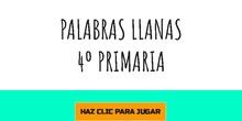 PALABRAS LLANAS