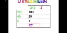 Mitad con centenas (tabla)