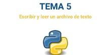 Python - Tema 5