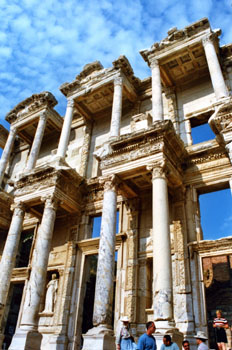 Biblioteca de Celso, éfeso, Turquía