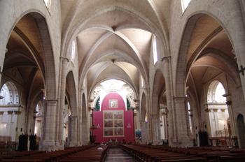 Nave central, Catedral de Valencia
