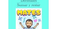 4º Matemáticas Decimales - Sumar y restar.