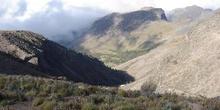 Vista panorámica desde el Refugio de Piedra Grande (4200m), Pico