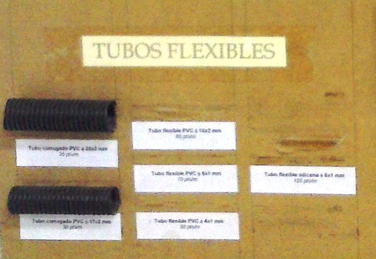 Tubos flexibles