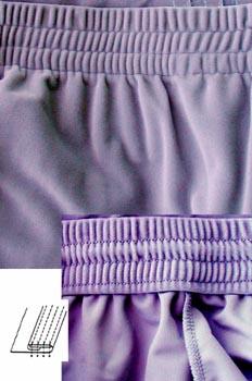 Remate de cintura con goma ancha