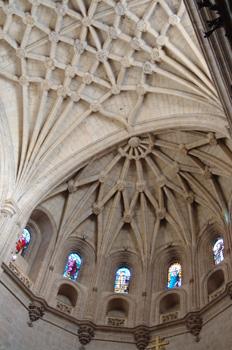 Bóveda del ábside, Catedral de Segovia, Castilla y León
