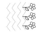 Grafomotricidad flores.