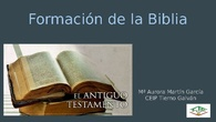 Formación de la Biblia