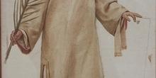 San Lorenzo, boceto para tapiz, Huesca