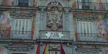 Fachada de la Casa de la Panadería en la Plaza Mayor de Madrid