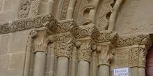 Capiteles con motivos vegetales. San Miguel de Foces, Huesca