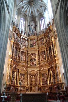 Retablo del Altar Mayor, Catedral de Astorga, León, Castilla y L