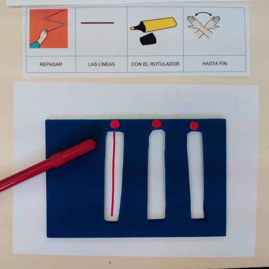 Seminario:material manipulativo para infantil y primaria adaptado a alumnos con T.E.A. 56