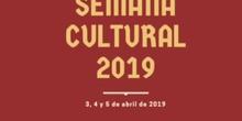 Semana Cultural curso 2018/19