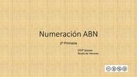 Numeración ABN