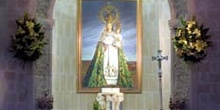 Imagen de la Virgen de las Viñas, Santuario Virgen de las viñas,