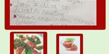 El tomate. Isabella 2º A
