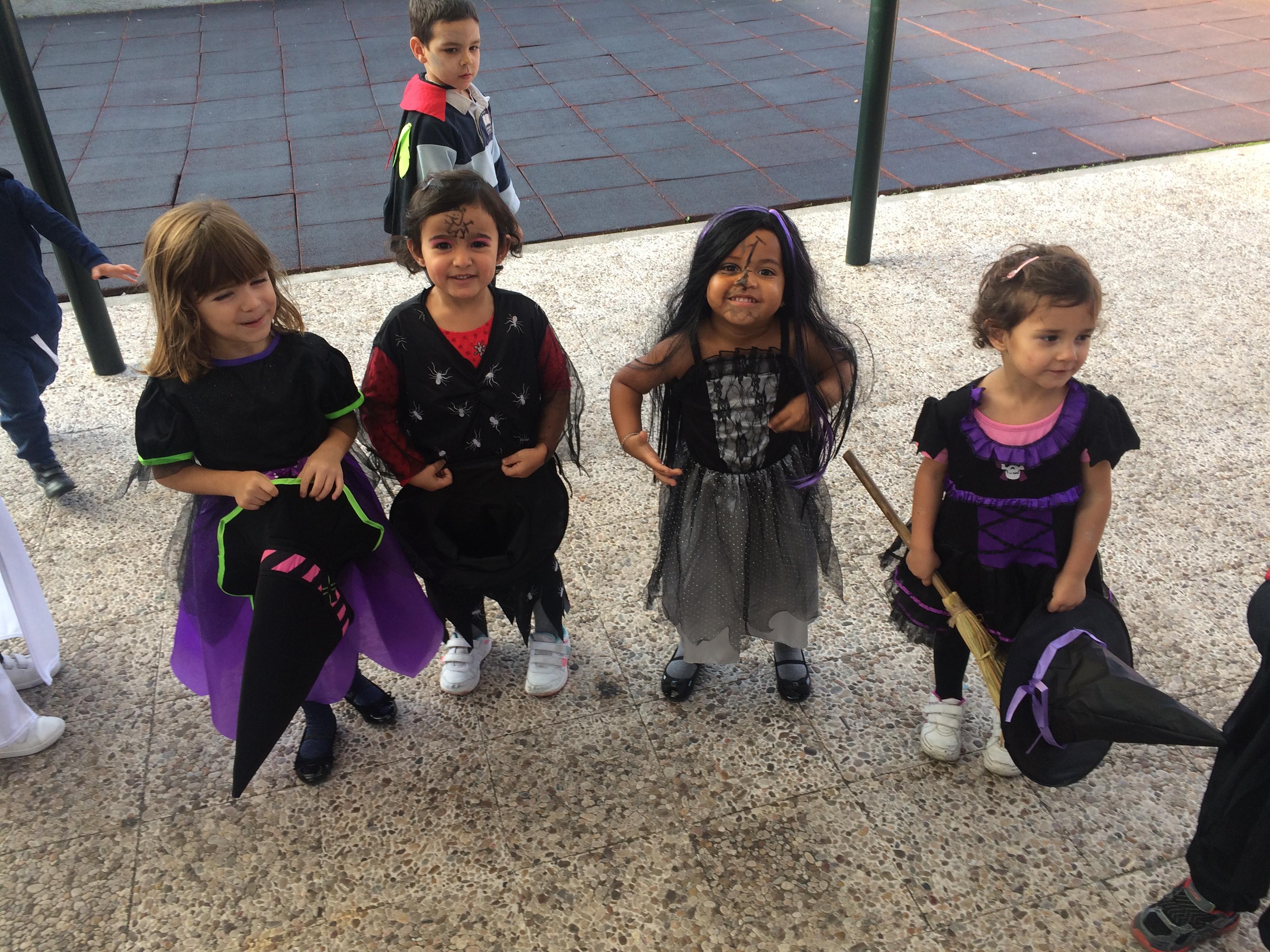 Halloween 2016 en Infantil 3 años A.