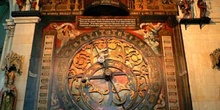 Reloj astronómico medieval, Muenster, Alemania