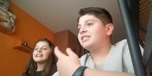 Paula 3ºA y Álvaro 6ºA