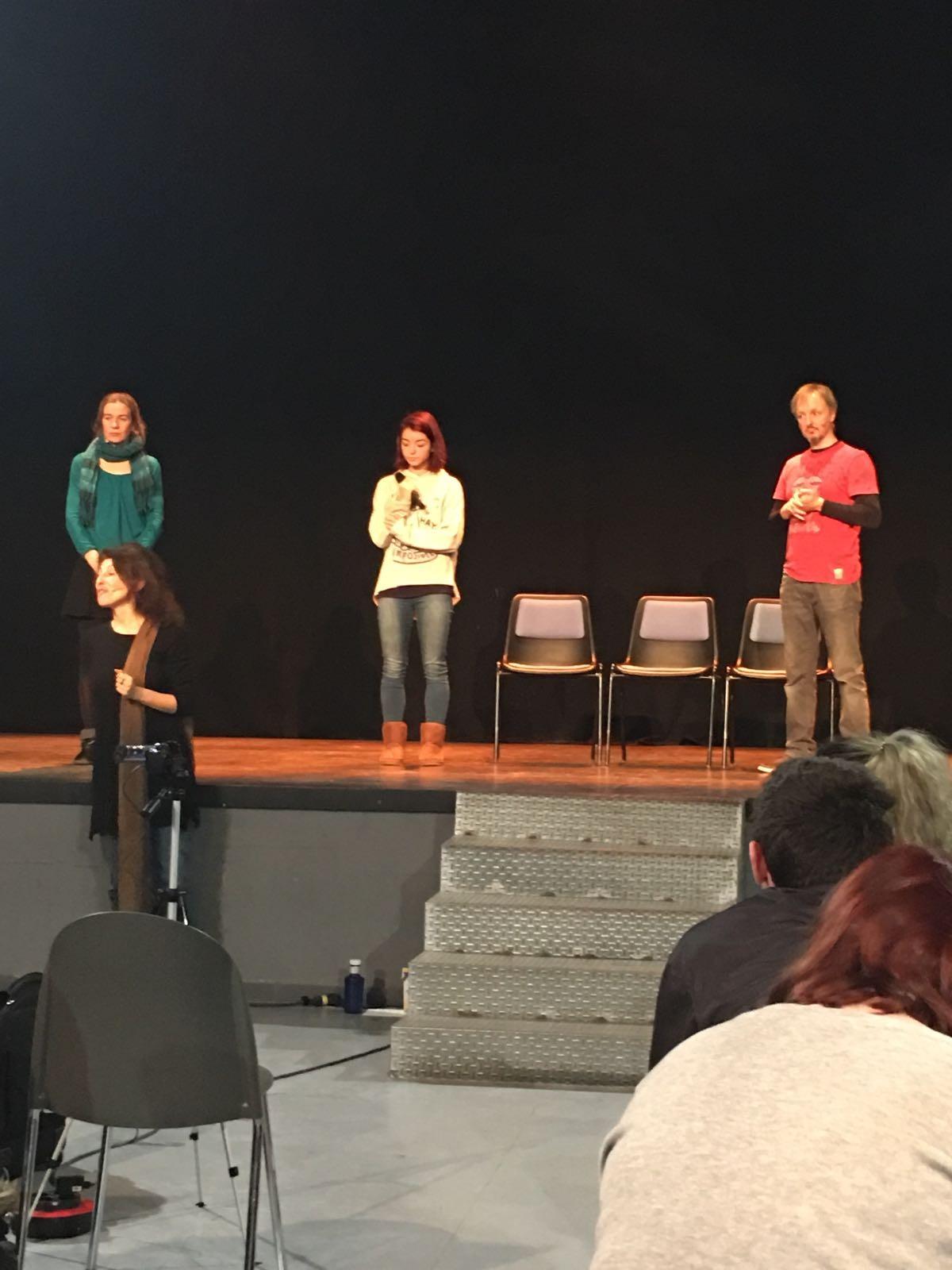 Amor en escena - Si es amor, no duele - Taller de teatro para la prevención de la violencia de género - Teatro que cura 4
